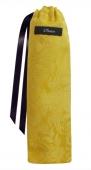 Fächertasche gold/gelb