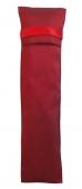 Fächertasche rot Seide
