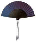 kleiner Seidenfächer violett