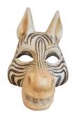 Tiermaske Zebra