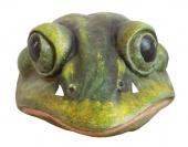 Tiermaske großer Frosch